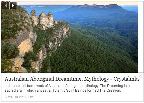 Australian Dreamtime Mythology